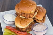 Southern Fried Chicken Sliders