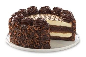 10 Inch 30th Anniversary Chocolate Cake Cheesecake