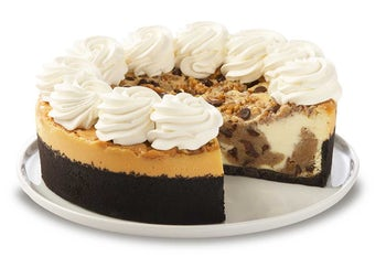 10 Inch Chocolate Chip Cookie-Dough Cheesecake