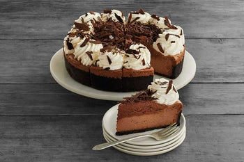 10 Inch Chocolate Mousse Cheesecake