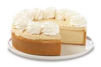 10 Inch Dulce De Leche Caramel Cheesecake