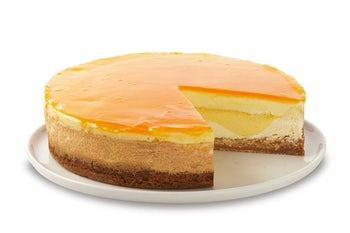 10 Inch Mango Key Lime Cheesecake