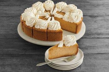 10 Inch Pumpkin Cheesecake