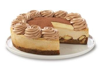 10 Inch Tiramisu Cheesecake