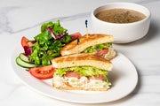 Renee's Chicken-Almond Salad Sandwich