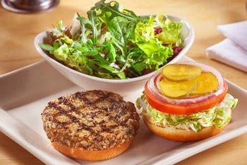 Skinnylicious Veggie Burger