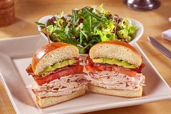 Skinnylicious Turkey & Avocado Sandwich
