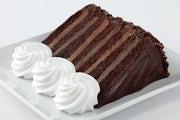 Chocolate Tower Truffle Cake