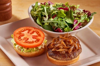 Skinnylicious Grilled Turkey Burger