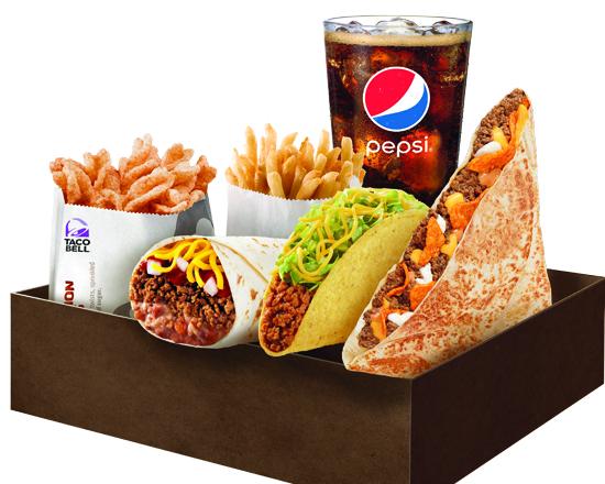 Box $6.99 Doritos Cheesy Nacho