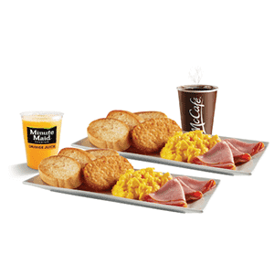¡Para 2! Escoge dos Big Breakfast