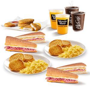 ¡Para 4! Dos Small Breakfast & Dos McCriollos