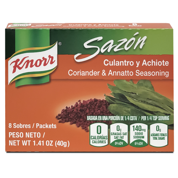 Knorr Sazón Kolorao 8 ct