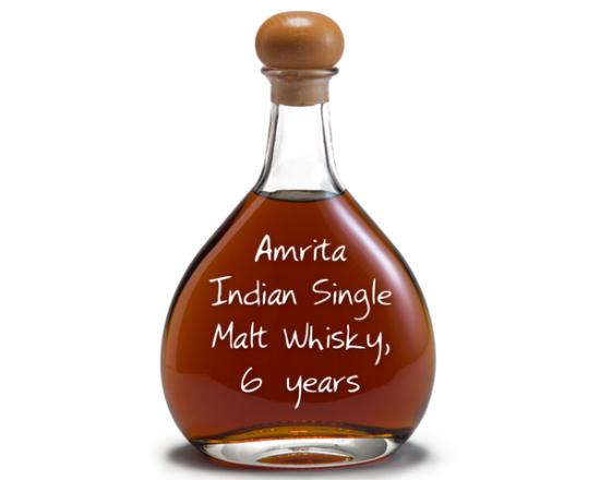 Amrita Indian Single Malt Whiskey 6 Years - 375ml