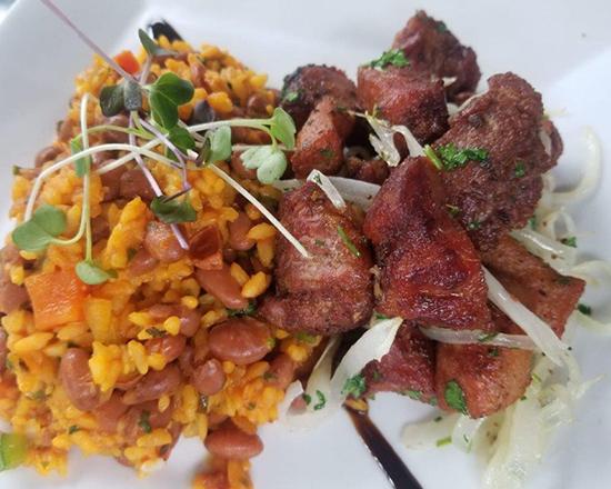 Carne frita (lomo de cerdo)
