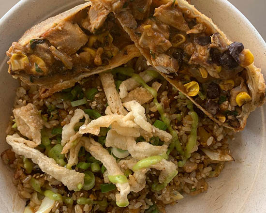 1 Signature Roll + Bori Rice