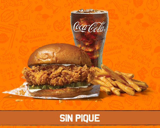 """The"" Chicken Sandwich (sin Pique)"